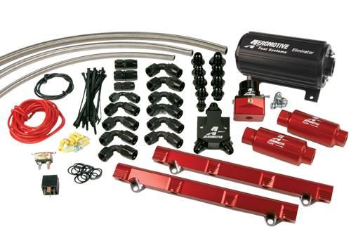 Aeromotive - AEI17146 - 98 1/2-04 4.6L DOHC Cobra Eliminator Fuel System