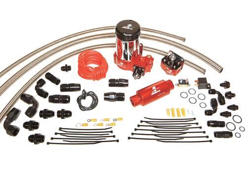 Aeromotive - AEI17203 - A2000 Carbureted Fuel System (single carb)