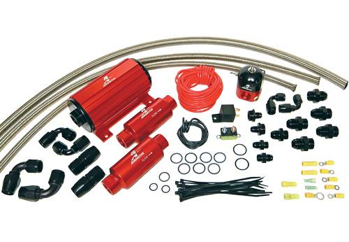 Aeromotive - AEI17242 - A1000 Carbureted Fuel System (Single Carb)