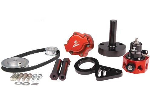 Aeromotive - AEI17243 - BB Chevy Belt Drive Fuel System
