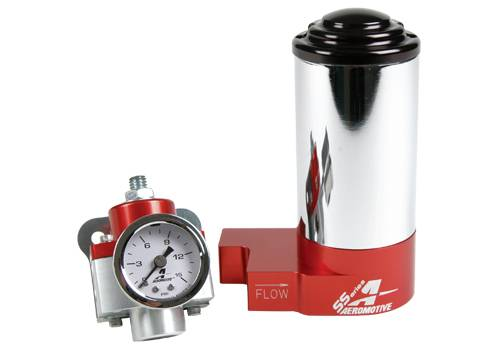 Aeromotive - AEI17247 - SS Fuel Pump & Regulator Kit (AN)