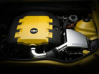 GM (General Motors) - 92219188 - 2010-13 Camaro V6 (LFX) Engine Cover, Rally Yellow (GCO)