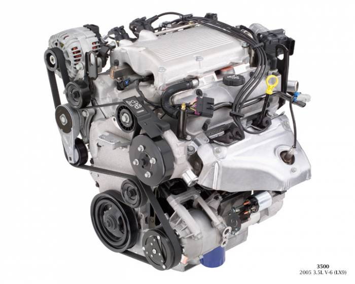 GM (General Motors) - 12600069 - NEW GM 2005 - 2007 3.5L, 214 CID, 6 Cylinder Engine