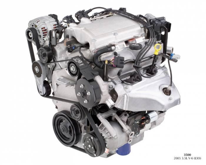 GM (General Motors) - 89060432 - Remanufactured GM 2005 - 2006 3.5L, 214 CID, 6 Cylinder Engine