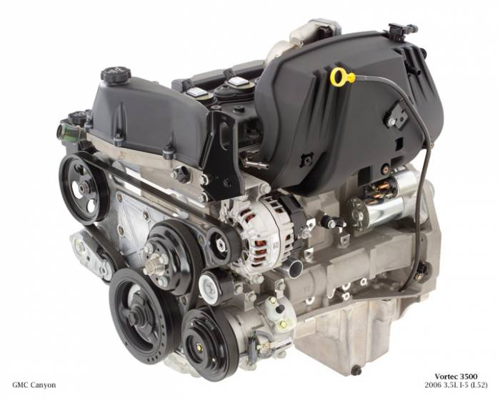 GM (General Motors) - 89060446 - Remanufactured GM 2004 - 2005 Colorado, Canyon3.5L, 214 CID, Inline 5 Cylinder Engine