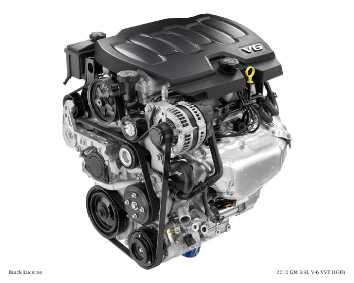 GM (General Motors) - 19256060 - Remanufactured GM 2008 - 2010 3.9L, 242 CID, 6 Cylinder Engine