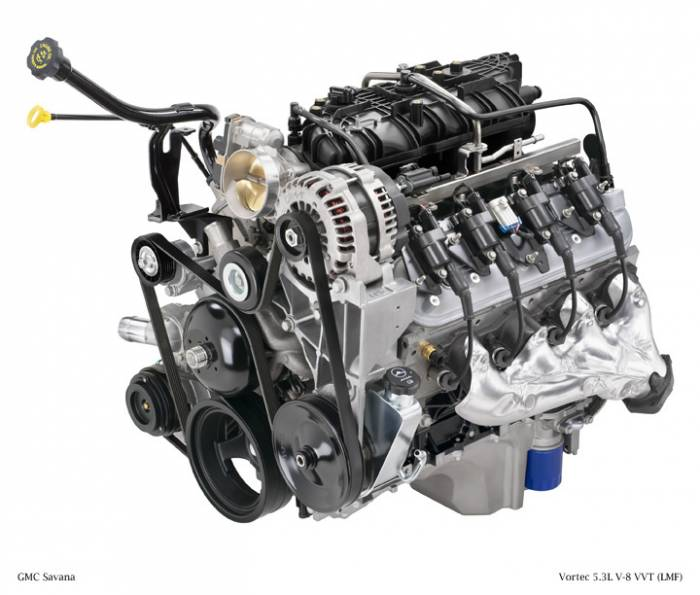 GM (General Motors) - 12632281 - NEW GM 2011 5.3L, 323 CID, 8 Cylinder Engine