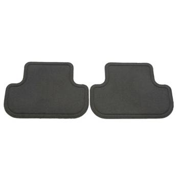 GM (General Motors) - 22781773 - 2010-14 Chevy Camaro Production Rear Floor Mats, Titanium