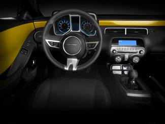 GM (General Motors) - 22918237 - 2010-14 Chevy Camaro Interior Trim Kit - Yellow (GCO)