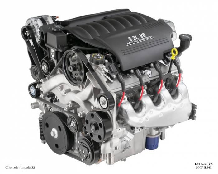 GM (General Motors) - 19209697 - Remanufactured GM 2007 - 2009 5.3L, 323 CID, 8 Cylinder Engine