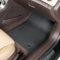 GM (General Motors) - 22802172 - GM Premium All Weather Floor Mats - 2011-12 Chevy Cruze, Front and Rear Set, Black