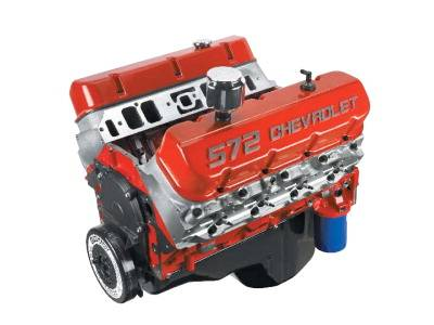 Chevrolet Performance Parts - 12498792 - Chevrolet Performance Parts ZZ572 (Street) 572CID 620HP Long Block Crate Engine