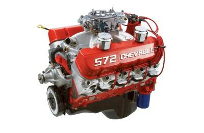 GM Performance Parts - 19201334 - GM Performance ZZ572 (Full Race) 572CID 720HP Deluxe Crate Engine