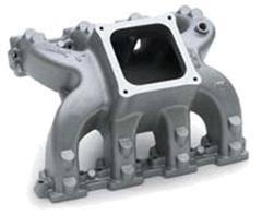 Chevrolet Performance Parts - 19257851 - LSX-DR Single Plane Rectangular port Intake Manifold, STD Deck