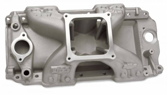 Chevrolet Performance Parts - 88962218 - Single Plane Intake Manifold - Big Block Chevy Rectangle Port- Tall Deck- Used on G.M.'s 572-720 HP Engine