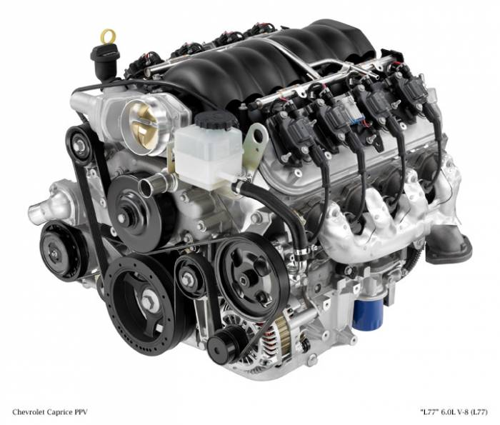 GM (General Motors) - 19256262 - New GM 2008 - 2011 6.0L, 366 CID, 8 Cylinder Engine