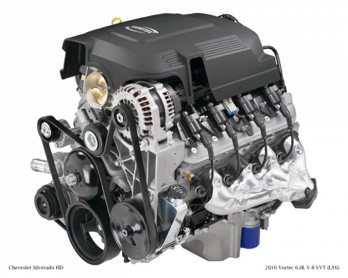 GM (General Motors) - 19256594 - New GM 2011 - 2012 6.0L, 366 CID, 8 Cylinder Engine