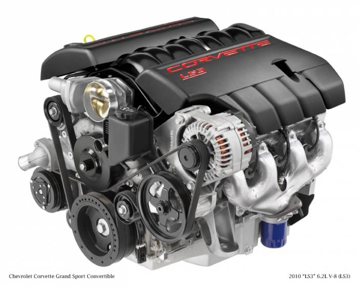 GM (General Motors) - 19256529 - New GM 2008 - 2012 6.2L, 379 CID, 8 Cylinder Engine