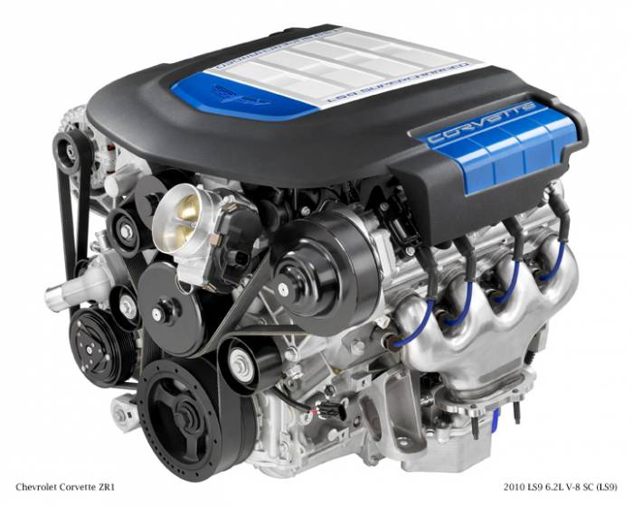 GM (General Motors) - 12624262 - New GM 2009 - 2012 6.2L, 379 CID, 8 Cylinder Engine
