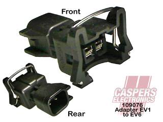 Caspers Electronics - CAS109076 - Fuel Injector Adapter EV1to EV6