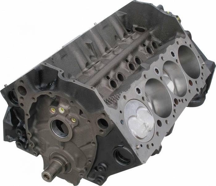 Blue Print - BP35511 - BluePrint SBC 355CID Partial Short Block Engine 1pc Rear Seal