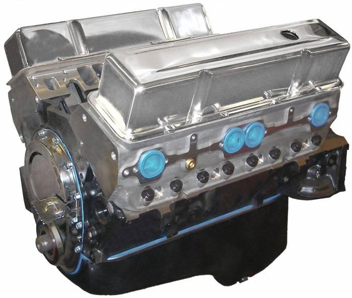 Blue Print - BP35513CT1 - BluePrint SBC 355CID 390HP Long Block Crate Engine 1pc Rear Seal