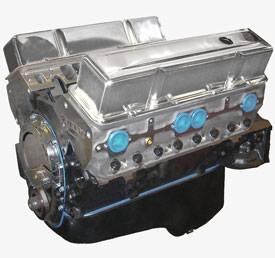 Blue Print - BP3834CT1 - BluePrint SBC 383CID 420HP Long Block Crate Engine 1pc Rear Seal