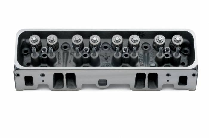 Chevrolet Performance Parts - 12558060 - Chevrolet Performance Parts SBC Cast Iron Vortec Cylinder Head - Complete