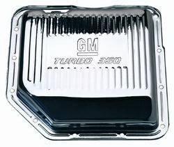 Proform - 141250 - GM Turbo 350 Chrome Transmission Oil Pan