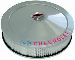 "Proform - 141362 - 14"" High-Tech Collectors Series Air Cleaner Kit With Chevrolet And Bow Tie Emblem"