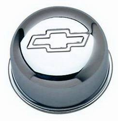 "Proform - 141616 - Chrome 3"" Push-In Style Air Breather Cap with Bowtie Emblem"
