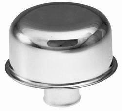 "Proform - 66008 - Chrome Push-In Oil Breather Cap - 3"" Diameter Fits 1.22"" Hole"
