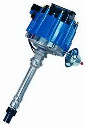 Proform - 66941BM - Chevy HEI Electronic Racing Distributor without Mechanical Advance, Blue Cap