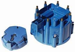 Proform - 66947BC - GM V8 Distributor Cap And Rotor Kit, Blue