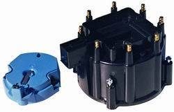 Proform - 66947BKC - GM V8 Distributor Cap And Rotor Kit, Black