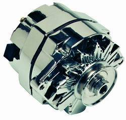 Proform - 664458N - GM 80 AMP Chrome 1-Wire Alternator