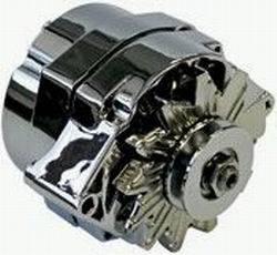 Proform - 6644514N - GM 140 AMP Chrome 1-Wire Alternator