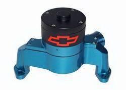 Proform - 141653 - SBC Bowtie Electric Water Pump, Blue Die-Cast Aluminum