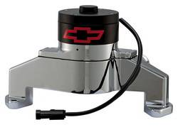 Proform - 141671 - BBC Bowtie Electric Water Pump - Chrome Die-Cast Aluminum