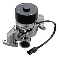 Proform - 68220C - Electric Water Pump - Ford Small Block, Chrome Die-Cast Aluminum