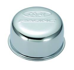 Proform - 302200 - Ford Racing Air Breather Cap - Chrome, Twist-On