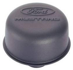 Proform - 302221 - Ford Mustang Air Breather Cap - Black Crinkle, Push-In
