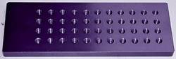 Proform - 67115C - Billet Jet Plate - Holds 22 Pairs of Jets