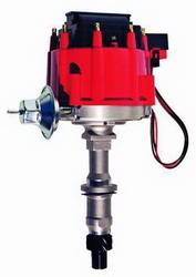 Proform - 66953 - Pontiac HEI Electronic Distributor, Red Cap