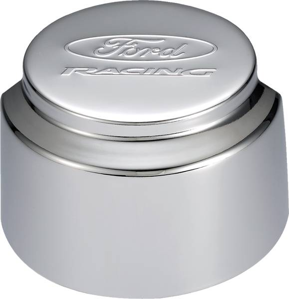 Proform - 302235 - Ford Racing Air Breather Cap - Chrome, Exposed Filter with Hood