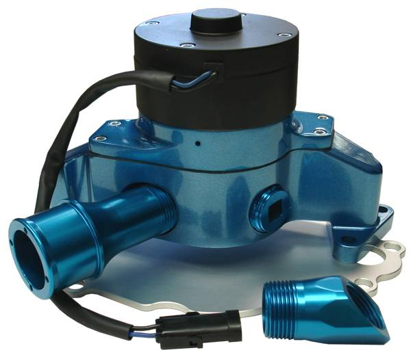 Proform - 68220B - Electric Water Pump - Ford Smal Block, Blue Die-Cast Aluminum