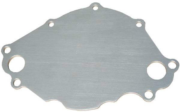 Proform - 66239 - Natural Billet Backing Plate for Ford Small Block Water Pumps