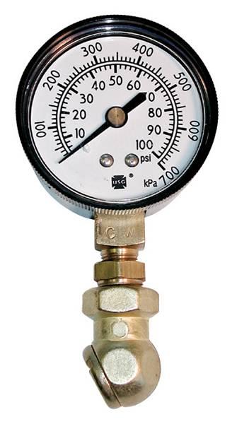 Proform - 67402 - Tire Pressure Gauge - 1-100 LBS.