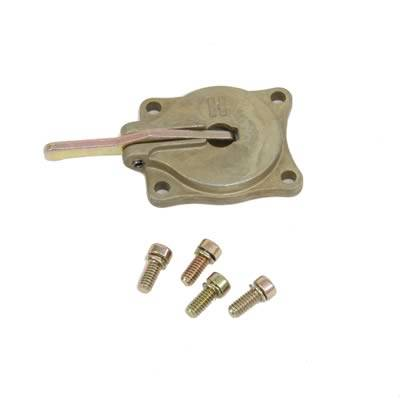 Holley Performance - HLY26-139 Holley 30cc Accelerator Pump Cover with Lever and Screws