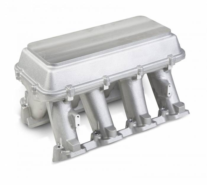 Holley Performance - HLY300-118 - LS3 Style Carbureted High Ram Style Intake With Blank Configurable Top